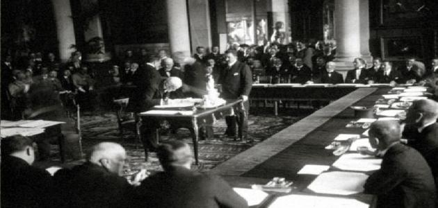 ما هي معاهدة سيفر