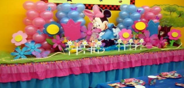 افكار لتزيين حفلة عيد ميلاد
