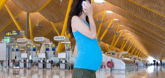 قواعد السفر بالطائرة للحامل