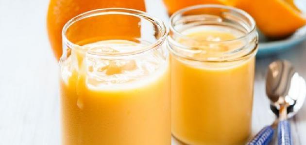 طريقة مهلبية البرتقال