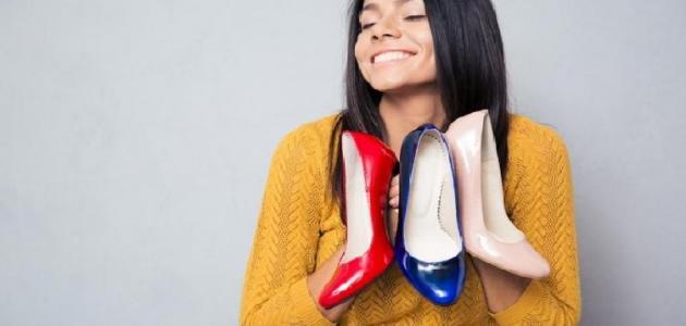 كيفية تنظيف الأحذية الجلد