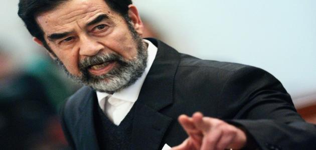 نبذة عن صدام حسين
