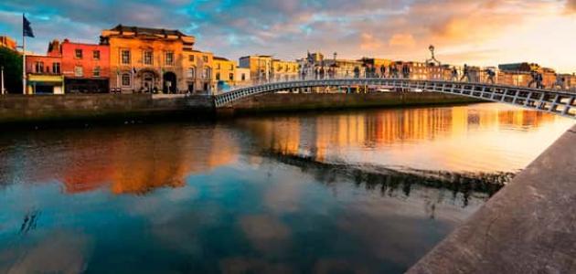 الأماكن السياحية في مدينة دبلن