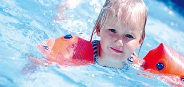 فوائد السباحة للأطفال