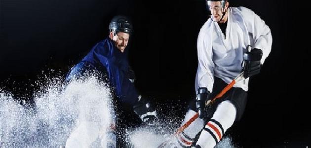 قوانين لعبة الهوكي على الجليد