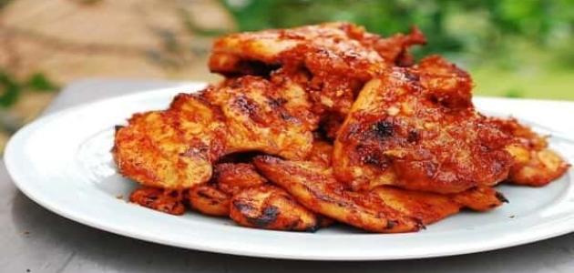 طريقة تتبيل دجاج المندي