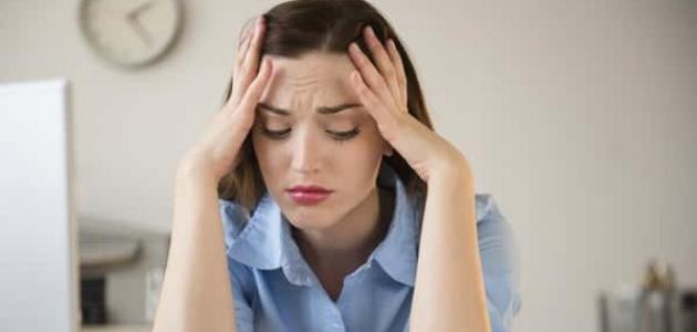 أعراض التوتر العصبي في الرأس