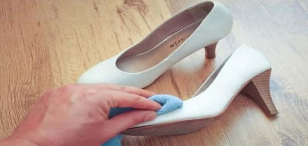 طريقة تنظيف الجلد الأبيض