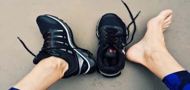 علاج احتكاك القدم بالحذاء