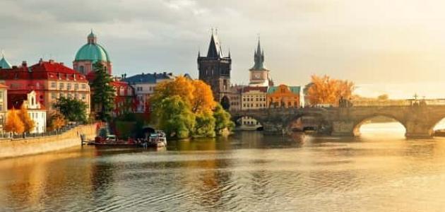 معلومات عن عاصمة التشيك