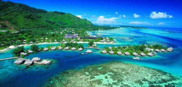 معلومات عن جزر تاهيتي