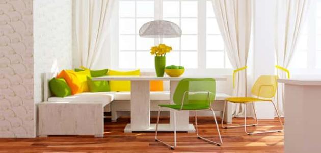 ألوان تمنح منزلك الدفء في فصل الشتاء
