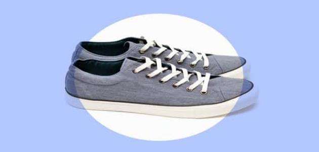 248c82b4d2e1a طريقة تنظيف الأحذية القماشية - موسوعة وزي وزي