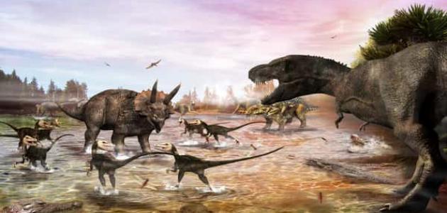 نبذة عن العصر الطباشيري