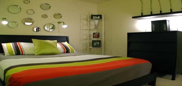 أفكار ديكور غرفة النوم محدودة المساحة
