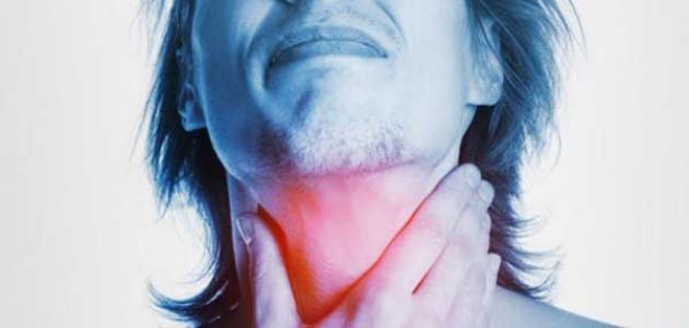 أعراض التهاب الحلق