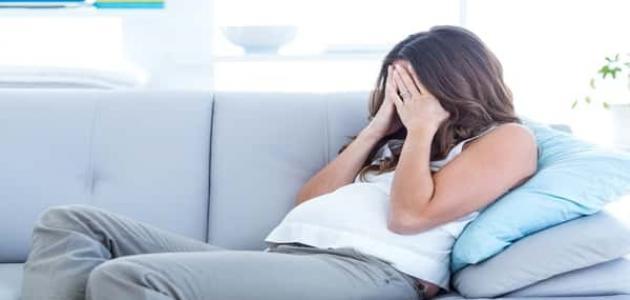 أسباب اكتئاب الحمل