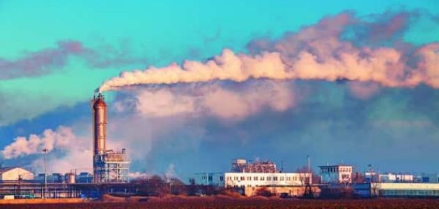 موضوع تعبير عن تلوث الغلاف الجوي
