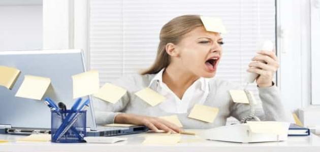 أعراض الضغط النفسي
