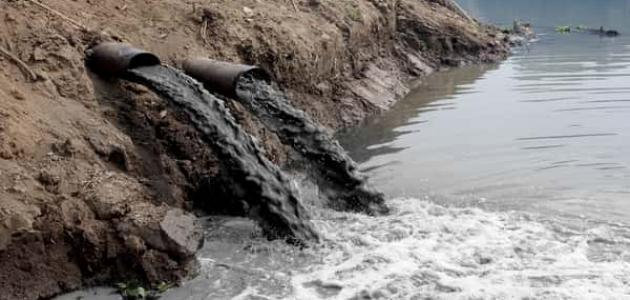 معلومات عن التلوث المائي