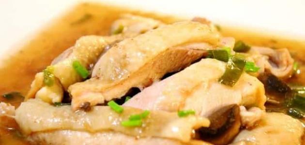 طريقة عمل دجاج الكانتون