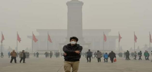 أضرار تلوث الهواء