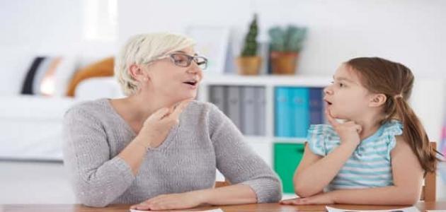 أسباب اضطرابات اللغة والنطق