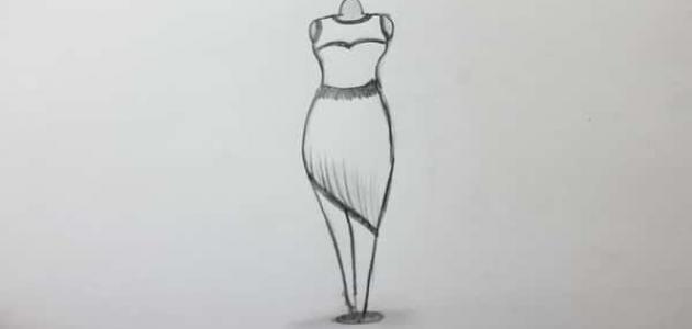 f87adc28a كيف أرسم تصاميم الفساتين - موسوعة وزي وزي