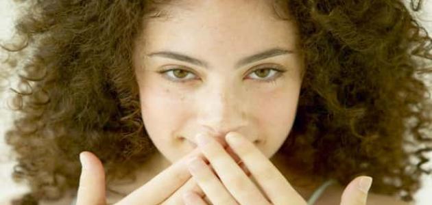 علاج السواد حول الفم بالأعشاب
