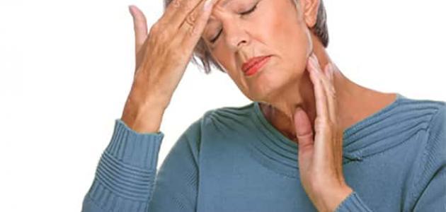 أعراض انسداد الشريان السباتي