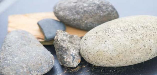 أنواع الصخور البركانية