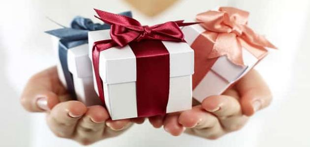 عبارات شكر على هدية