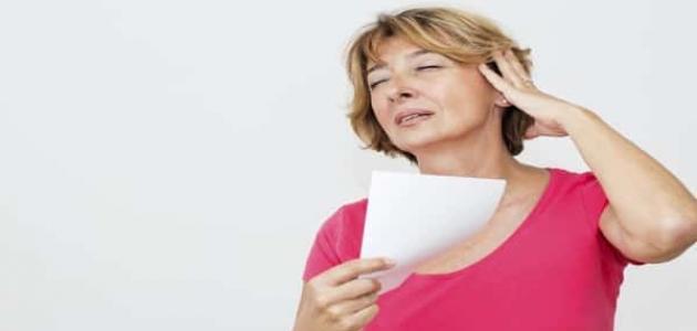 ما هي أعراض سن اليأس