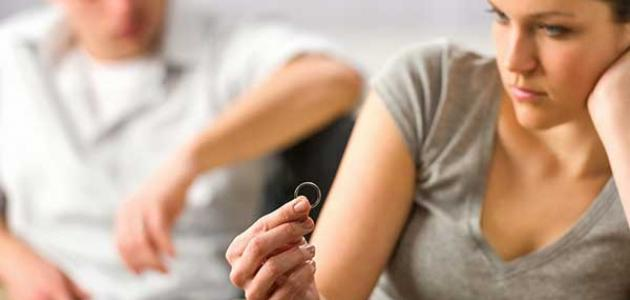 آثار المشاكل الزوجية