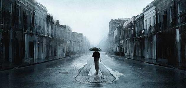 عبارات عن المطر