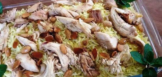 طريقة عمل فتة الدجاج الشامية