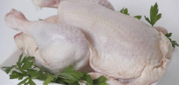 طريقة غسل الدجاج