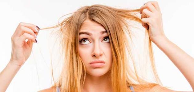 طريقة غسل الشعر الدهني