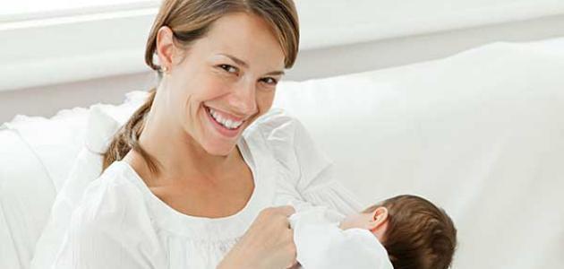 مكونات حليب الأم