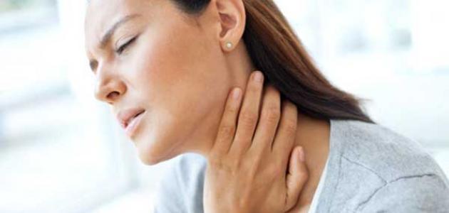 أعراض سرطان الحلق