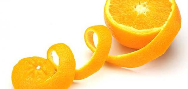 فوائد قشر البرتقال للأسنان