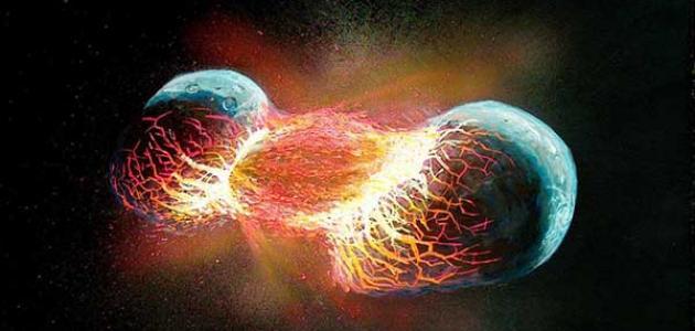 نظريات نشأة الأرض
