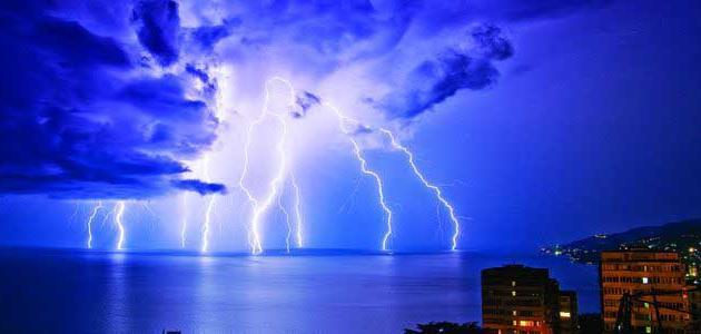 معلومات عن البرق والرعد