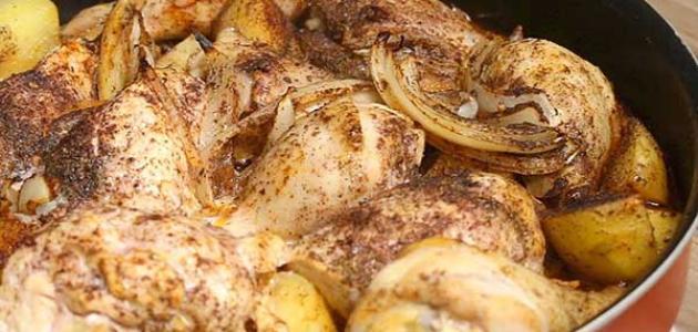 طريقة عمل دجاج بالكاري والخضار