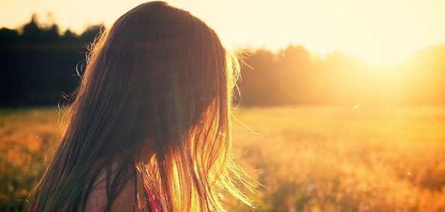 فوائد الشمس للشعر