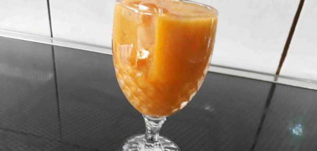 طريقة عمل عصير المشمش