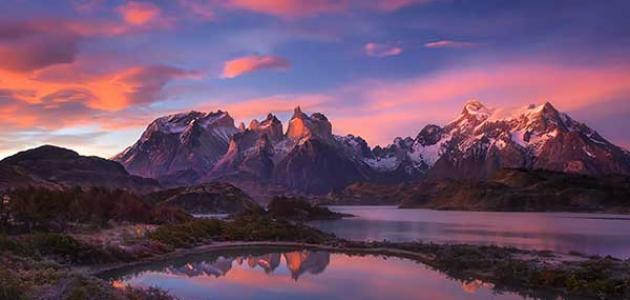 معلومات عن سلسلة جبال الأنديز