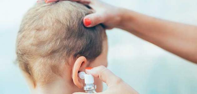 أعراض التهاب الأذن عند الأطفال