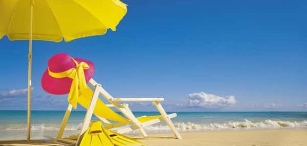 تعبير عن عطلة الصيف