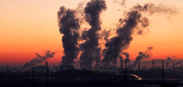 تعبير كتابي عن التلوث
